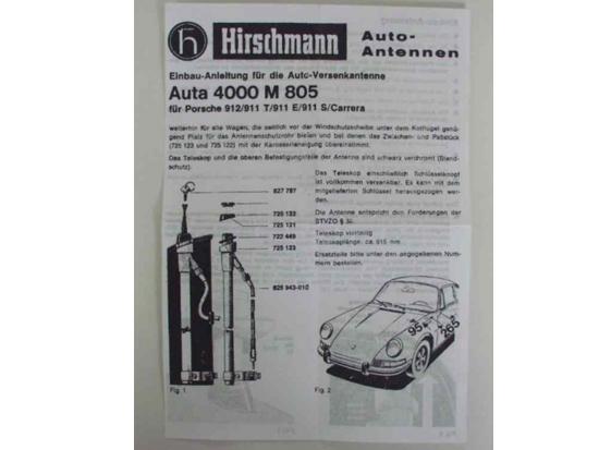 Keonigs Special retractable antenna Porsche 911 30127