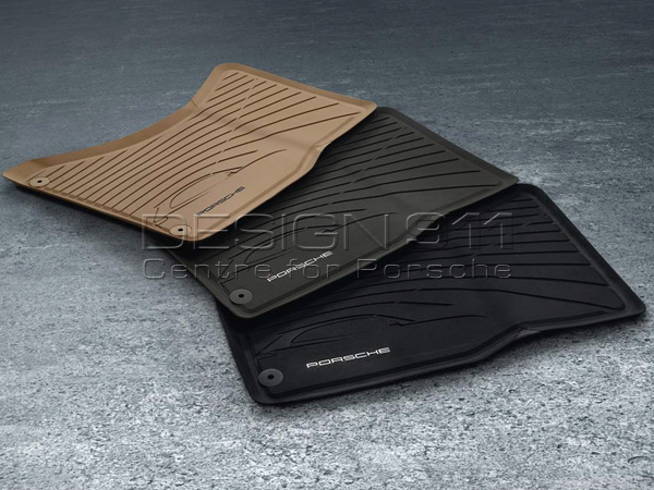 Rubber Interior Floor Mats. Porsche Macan RHD Cars. Zoom In (2) ...