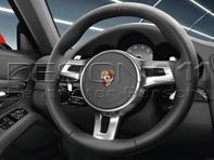 SportDesign steering wheel. Porsche 991 (911) / 981 Boxster / 981 Cayman