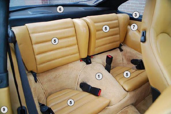 buy porsche 911 912 1965 1989 complete interior restoration kit design 911. Black Bedroom Furniture Sets. Home Design Ideas