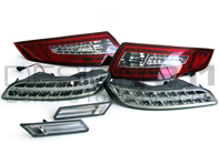 Daytime Running Lamps (DRL) & LED Upgrade Kit for Porsche 997 Gen1