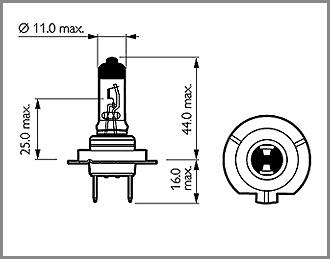 buy porsche boxster 986  987  981 main  full beam bulbs