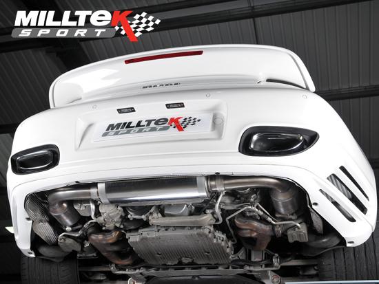Sports Exhaust Muffler Cat Back Race Rear Box Porsche