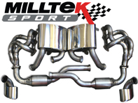 Sports Exhaust Full System. Porsche 996 GT3 / GT3RS  MILLTEK SPORT