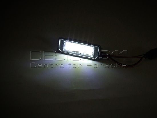 Fits Porsche Boxster 986 2.7 White 6-SMD LED 39mm Festoon Number Plate Bulbs