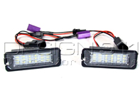 Number Plate Light with LED'S for Porsche