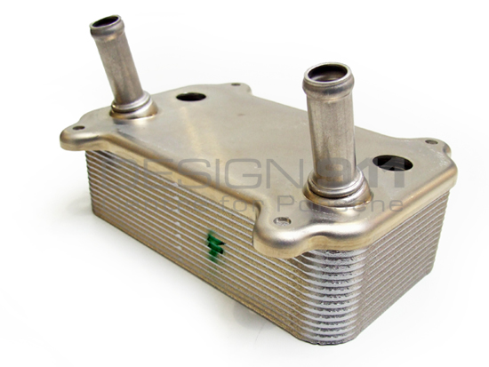 Porsche Design Cooler : Porsche engine oil heat exchanger