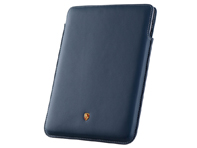 Porsche Case for iPad 2 and iPad 3, Yachting Blue with Grey stitching