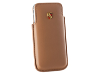 Porsche Case for iPhone 5, Cognac