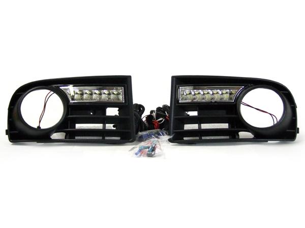 VW Golf MK5 LED Daytime Running Lights DRL For Cars With Fog