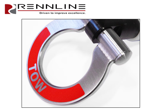 PORSCHE Boxter Carrera Panemera Cayman Tow Hook Towing Eye Loop Bracket Ring