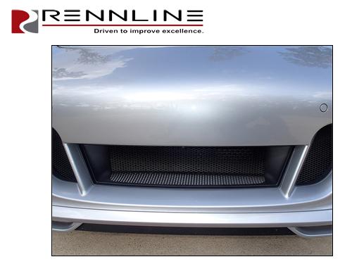 porsche rennline front bumper wire mesh grill kit porsche 997 wiring diagram