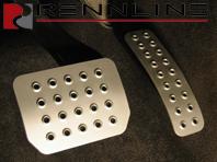 Rennline Brake Pedal Perforated. Porsche Cayenne TIPTRONIC
