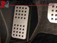 Rennline Dead Pedal FACTORY LOOK. Porsche 955/957 Cayenne