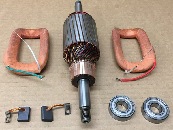 Alternator rebuild kit 12V 30A 90 mm Porsche 61660310201