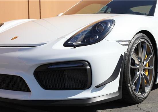 Porsche 981 Cayman Gt4 Rss Front Carbon Areo Canards Dive