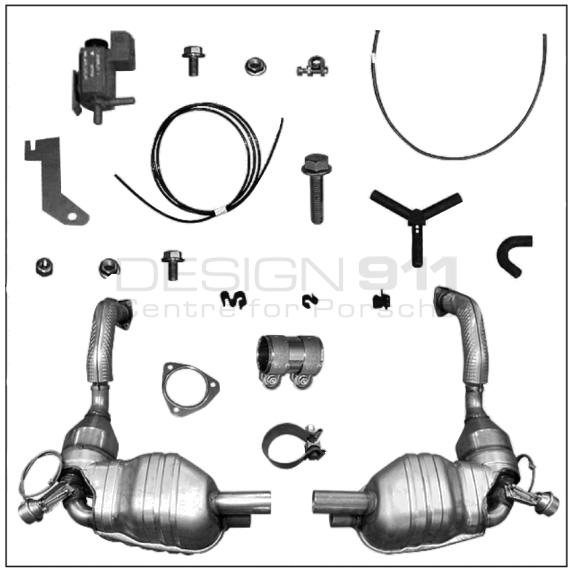 Exhaust Muffler Silencer Sports Valvetronic 98704420001