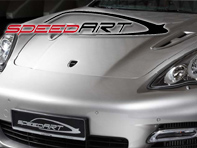 Front Bonnet Air Outlets PS9 SpeedART. Porsche Panamera