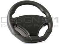 Steering Wheel Rascasse - Black Leather  - RAID