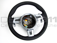 Steering Wheel 3-spoke Sport with paddle shift. Porsche 987 / 997 PDK cars