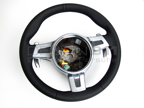Steering Wheel 3 Spoke Sport With Paddle Shift Porsche