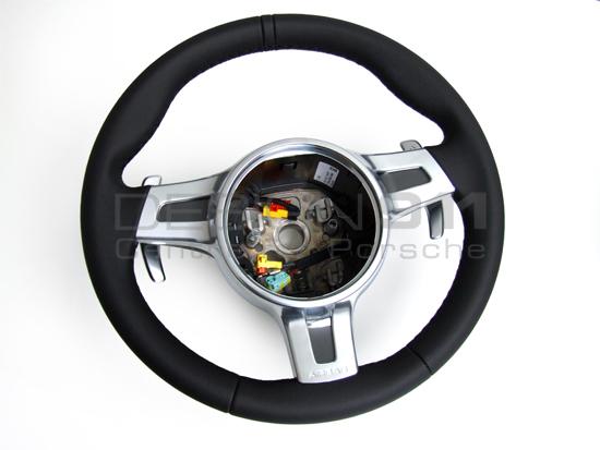 Steering Wheel 3 Spoke Sport With Paddle Shift Porsche