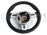 Steering Wheel 3-spoke Sport for Manual Cars. Porsche 987 / 997