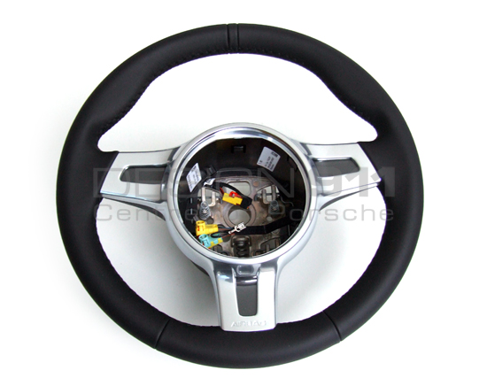 Porsche 987 Steering Wheel 3 Spoke Sport For Manual Cars