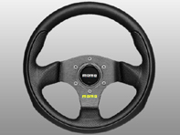 Steering Wheel Team - Black Lth - Momo
