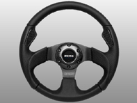 Steering Wheel Jet - Black Lth - Momo