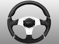 Steering Wheel Millenium - Black Lth - Momo