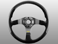 Steering Wheel Tuner - Black Lth / Anthracite - Momo