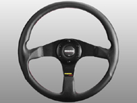 Steering Wheel Tuner - Black Lth / Black - Momo