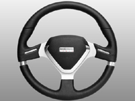 Steering Wheel Millenium Evo - Black Lth - Momo