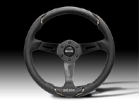 Steering Wheel Gotham - Black Lth - Momo