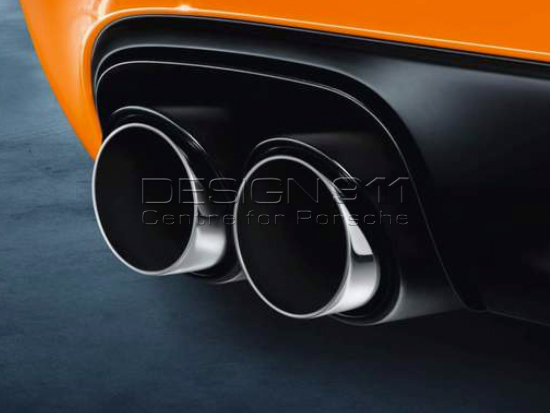 Porsche Exhaust 911 Carrera Gts Sports Tail Pipes