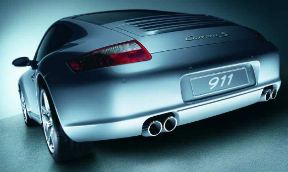 Sport Exhaust Tail Pipe Oe Porsche 997 Carrera S