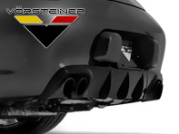 Vorsteiner V-GT Rear Add-On Diffuser for Porsche 997 Carrera MKII