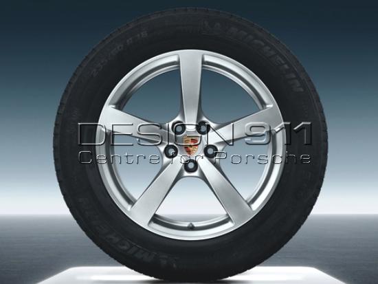 18 Quot Macan Alloy Wheels Amp Winter Tyres Original Porsche