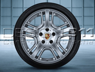 "19"" Panamera Design Alloy Wheels & Tyres Original Porsche"
