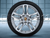 "19"" Panamera Turbo Alloy Wheels & Tyres Original Porsche"