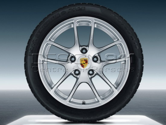 18 Quot Cayman Alloy Winter Wheels Amp Tyres Original Porsche