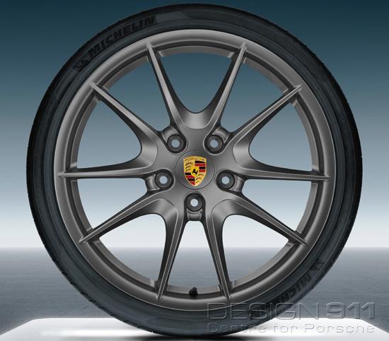 Carrera S Platinum Alloy Wheels Amp Tyres Original Porsche