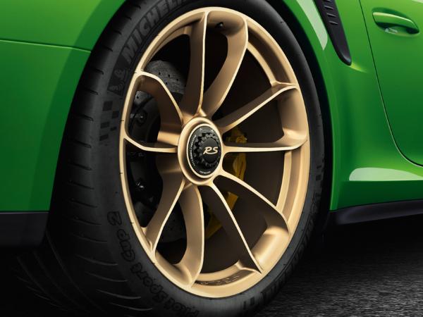 Porsche Gt3 Rs Price >> 20-inch 991.2 GT3 RS in Aurum (satin-gloss) Alloy Wheels & Winter Tyres Original Porsche ...