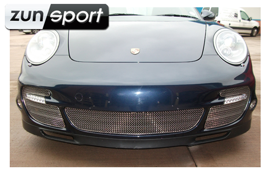 Front Bumper Stainless Steel Full Front Grill Set Zunsport