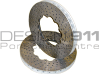 Replacement CERAMIC Brake Disc rotor FRONT. Porsche 997 Models