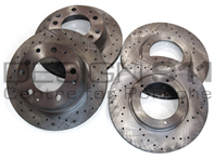 Brake Disc Rotor SPORTS Front and Rear Porsche 911 / 930 Turbo