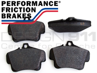 PERFORMANCE FRICTION Fast Road and Race Brake Pads For Porsche 0776/E2405/T5104 (OE Part No 99635294903 / 99735193904)