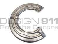Brake disc cover plate Rear. Porsche 964 / 924S / 944 / 968