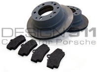 Brake Pads and Brake Disc Package. Porsche 911 1974-83